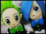 Cilan - Cress by renealexa-plushie