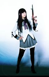 Akemi Homura Cosplay by Chowing