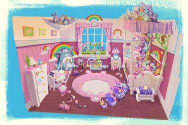 the BUNNY ROOM by joshuathejames