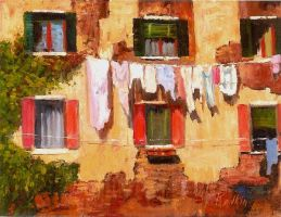 Washday In Venice by artaslife