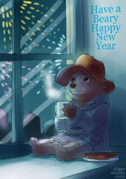 Beary Happy New Year by aimo