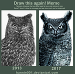 Draw this again OWL 2013/2017 by hannie001
