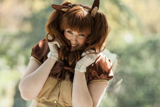 Pokemon - Eevee by Eli-Cosplay