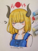 A Liar with Horns by ScissorBoy1995