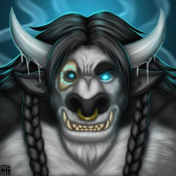 Attarn Stormblade - Mugshot as he is now. by sharlin