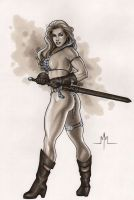 Red Sonja by MMcDArt
