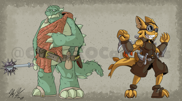 Morphaen DnD Commissions by CHAOKOCartoons