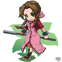 FA FF7 Aerith Gainsborough by XaR623