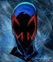 Spiderman2099 colored by JoeyVazquez