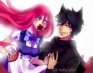 OP OCs - Welcome to the Wonderland - ZerraBennett by Melo-Cake