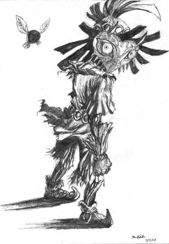 The Skull Kid by TheLivingShadow