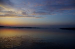 Afterglow on Torch Lake by iamwhoiam12