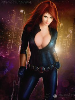 Black widow by ShuraKRGT