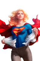 Render Supergirl by KenjiOkumura