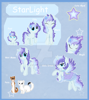 StarLight Reference sheet finished by StarDust-Adoptables
