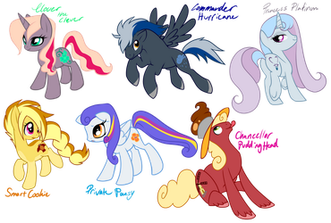Founders of Equestria by Sakuyamon