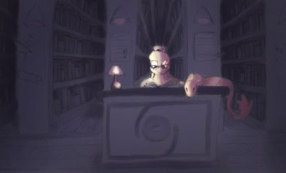*REUPLOAD* Places of Venalyse-The Infinite Library by CapybaraCake