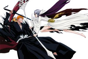 Ichigo and Rukia Fade to Black by phrmcysk8er