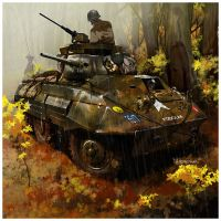 M8 GREYHOUND by dugazm