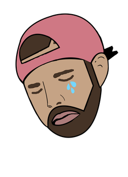 Drake Crying Meme by sampoozi-art