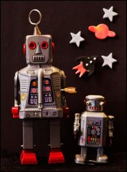 Robots have friends too by LordLJCornellPhotos