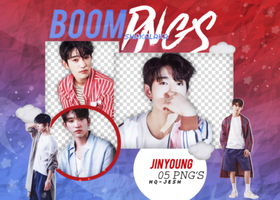 JINYOUNG PNG PACK #1  GOT7 by Upwishcolorssx