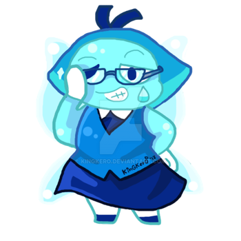 Glasses Aquamarine by KinGKerO