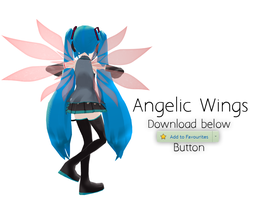 MMD: Angel Wings DL by PiosanK