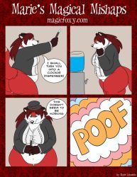 Maries Magical Mishaps 11 by PudgeyRedFox