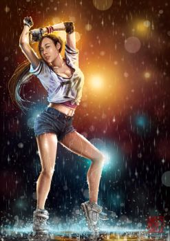 Dancing in the Rain by sXeven
