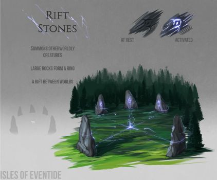 Rift stones concept by Chickenbusiness