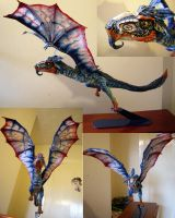 Dragon Sculpture by Chrissyboyuk