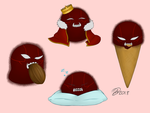 Greed Blobs #2 by Drawings-of-a-madman