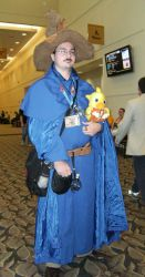 The Black Mage at Gencon by SpellboundFox