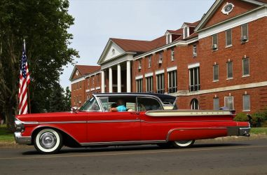 1957 Mercury Turnpike Cruiser by finhead4ever
