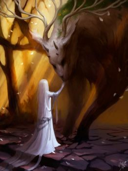 Forest spirit by AlMuse