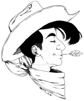 Lucky Luke by KingDavid-dO