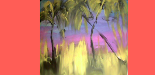 Qld Palm Trees in Color by Differance7