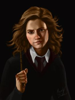 Hermione Granger by CluelesssEvil