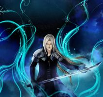 Sephiroth for Anna by Jack-R-Abbit