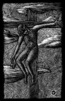 Self-Crucifixion by mechanicalwhisp