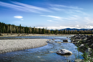 Elbow River by oddmountain