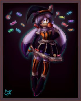Candy witch by Cometshina