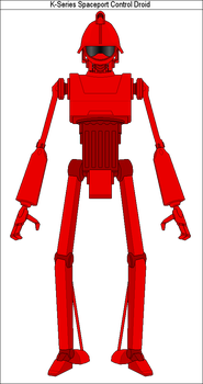 K-Series Spaceport Control Droid by MarcusStarkiller