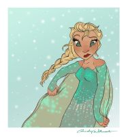 ICE CAPE? by LittleWheat