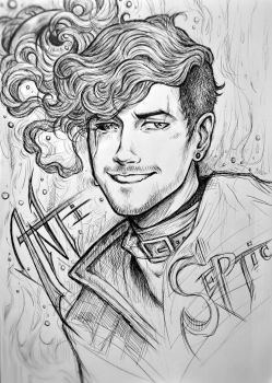 AntiSepticEye (outlines) by Silverleopard