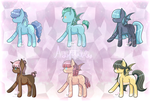 MLP - OC/FC Adoptables 8 Open by nekoremilia1