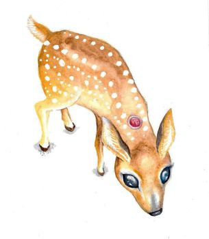 Dream Deer by BlackMagdalena