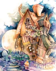 The Magician's House by Laumii