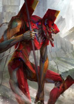 Evangelion - Unit 02 by theDURRRRIAN